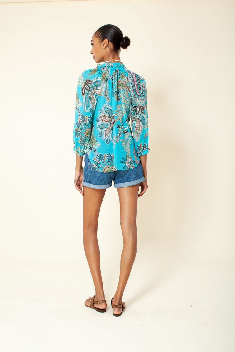 DREAM STATE LONG SLEEVE BLOUSE