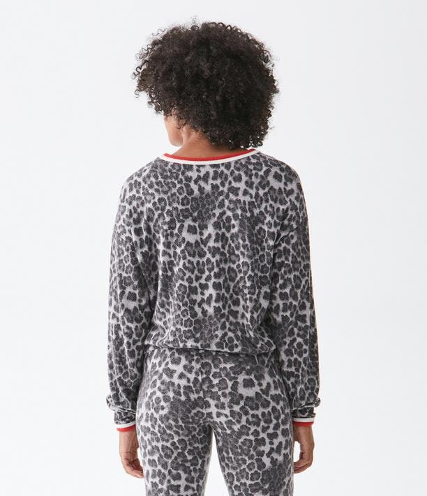 TATE LEOPARD TOP
