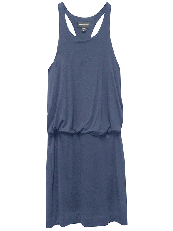 RACERBACK DRESS - NAVY