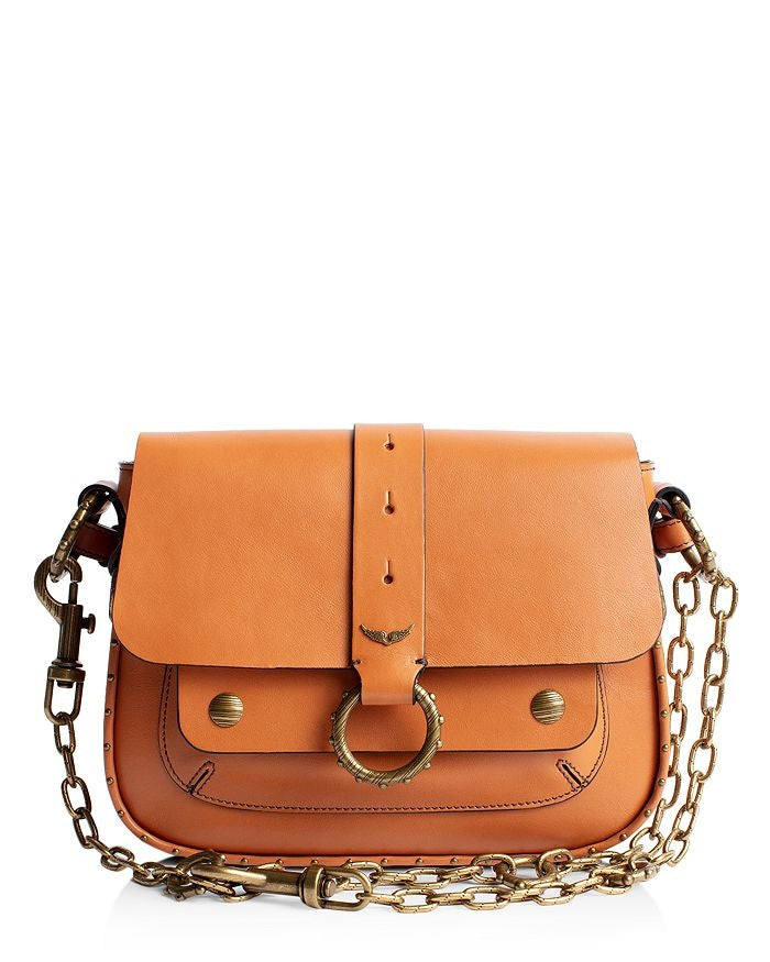 KATE SMOOTH CALF BAG - TAN