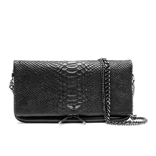 ROCK SAVAGE SNAKE HANDBAG