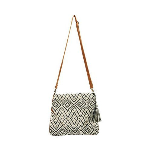 DIAMOND DHARI CROSSBODY ENVELOPE BAG