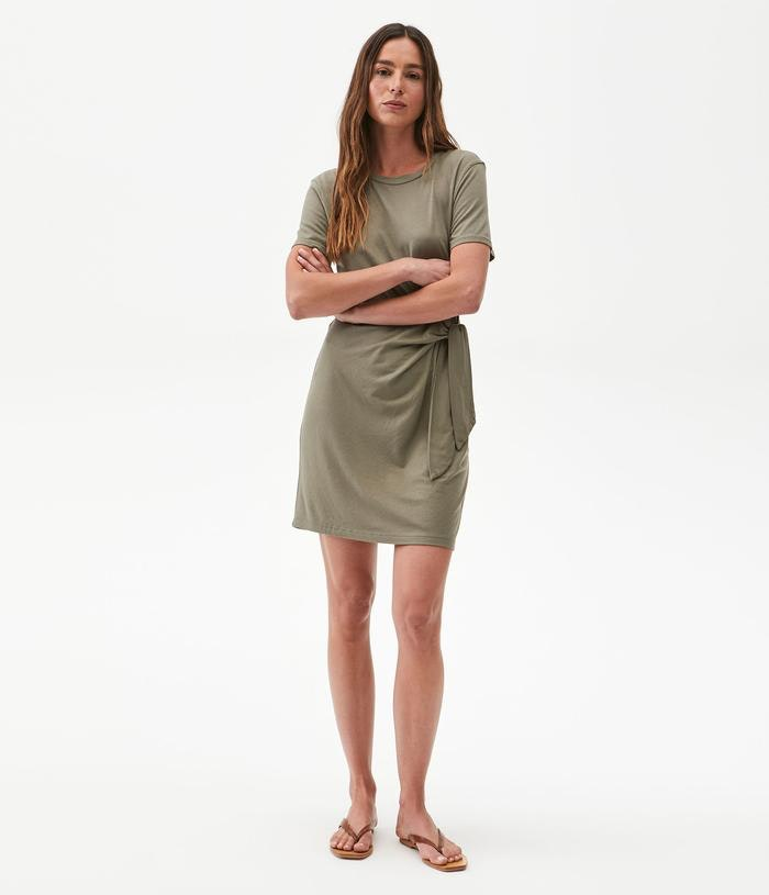 ZOOEY TIE WAIST DRESS