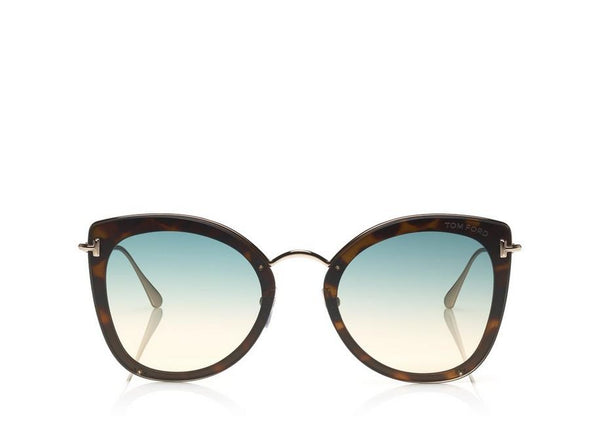 Tom Ford CHARLOTTE - LIGHT BLUE TORTOISE