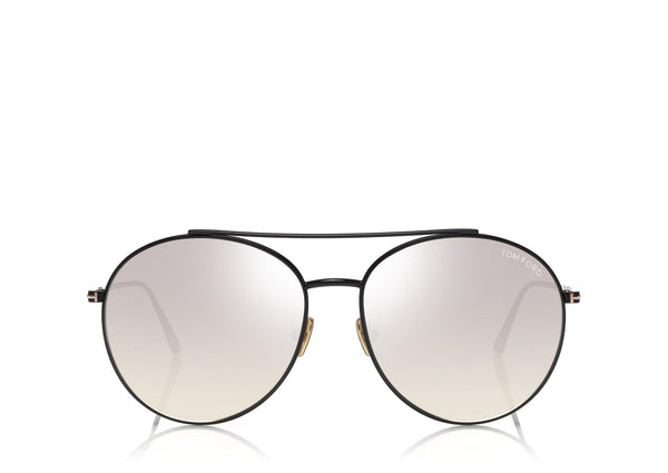 Tom Ford - CLEO - BLACK/SMOKE