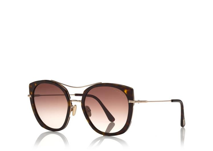 Tom Ford - JOEY - SHINY DARK HAVANA