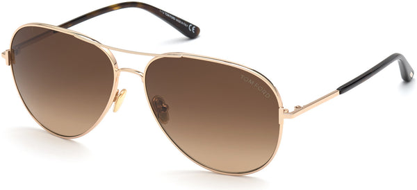 TOM FORD CLARK - SHINY ROSE GOLD