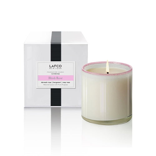 BLUSH ROSE SIGNATURE CANDLE 6.5oz - SUNROOM