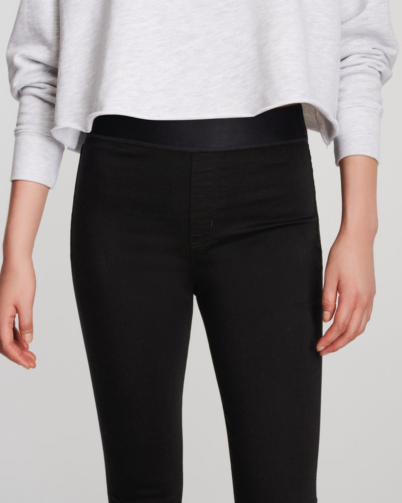 DELLAH HIGH RISE LEGGING - BLACK