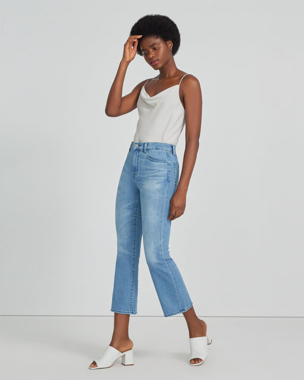 FRANKY HIGH-RISE CROPPED BOOT CUT