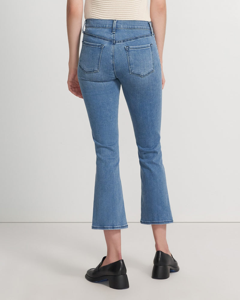 SELENA MID-RISE CROPPED BOOT CUT