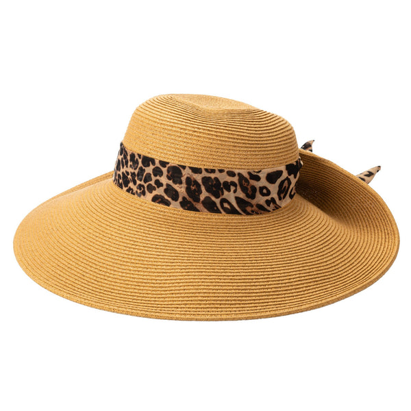 ULTRABRAID FOLD BACK BOW SUN HAT