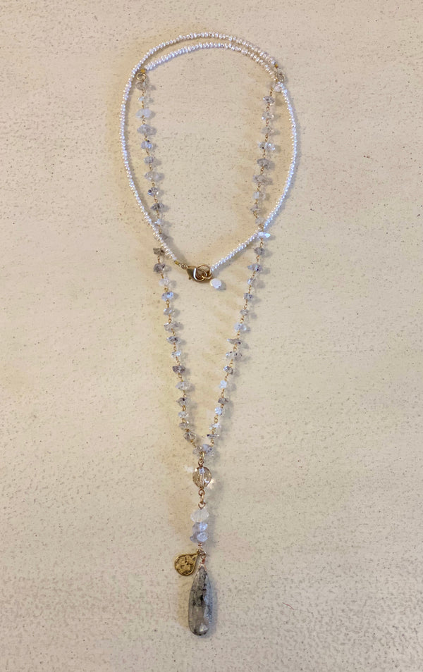 "12"" CLUSTER NECKLACE"