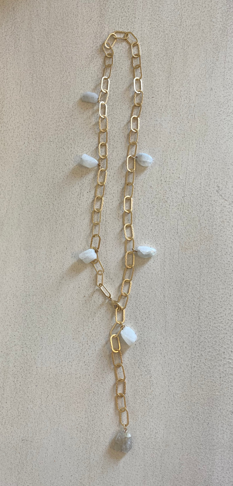 "18"" GOLD LINKS WITH PEARLS NECKLACE / BRACELET"