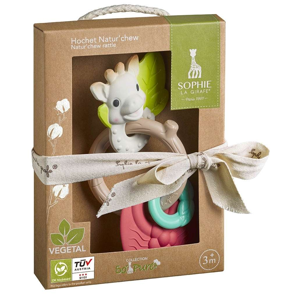 So'Pure Natur chew rattle Sophie la girafe® - Belakaia