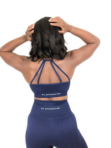 Royal Sports Bra - My Affirmation