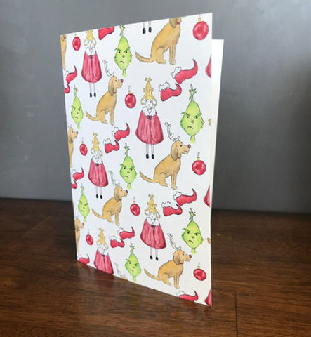 "Holiday Cards ""Grinch"""