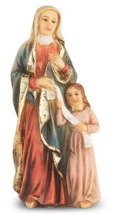 St Anne with Mary 10 cm Statue