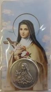St Theresa of Lisieux Pocket Token