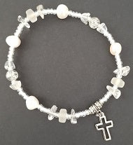 Bracelet with Cut Out Cross