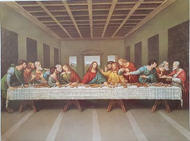 Last Supper A3 size