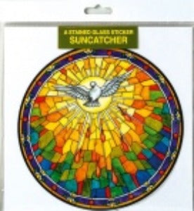 Suncatcher Sticker Holy Spirit