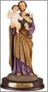 St Joseph with the Child Jesus 30cm  Statue