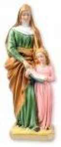 St Ann with Mary 30cm Statue