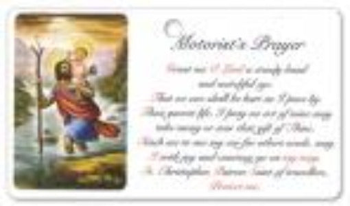 Motorist's Prayer Card