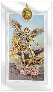 St Michael the Archangel Prayer Card