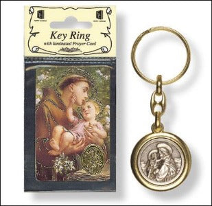 St Anthony of Padua Keyring