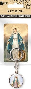 Our Lady of Grace Keyring