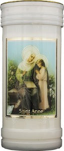 St Anne Candle
