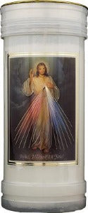 Divine Mercy Devotional Candle