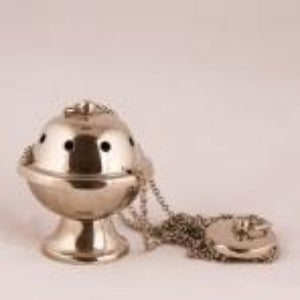 Thurible silver plated small