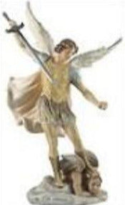 St Michael the Archangel 26 cm Statue