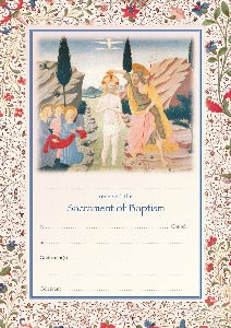 Baptism Certificate - Adults