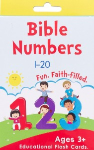 Bible Numbers Educational Flash Cards