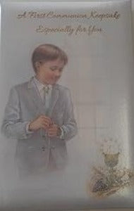 A First Communion Keepsake - Boy