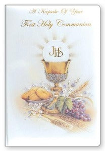 A First Communion Keepsake