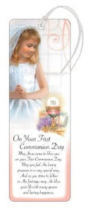 Bookmark - First Holy Communion - Girl