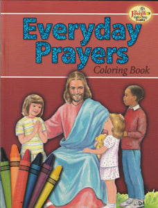 Everyday Prayers Coloring Book