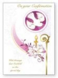 Confirmation Card - for a GodChild