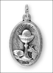 First Communion Medal -  Metal with Chalice
