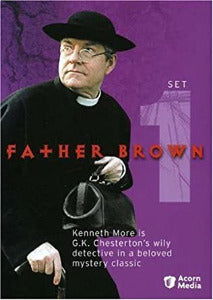 Father Brown series, 4 DVD  set