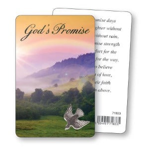 God's Promise Prayer Card