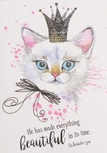 He Has Made Everything Beautiful In Its Time Illustrated Pet Notepad