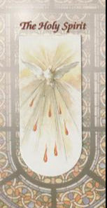Holy Spirit Magnetic Bookmark