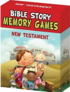 Bible Story Memory Games - New Testament