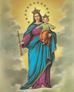 Our Lady Help of Christians  A4 size
